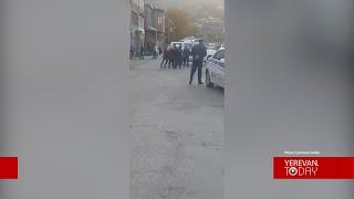 Գորիսում ՔՊ-ականների  քարոզարշավն ուղեկցվում է բռնություններով