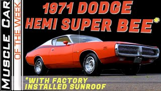 1971 Dodge Super Bee 426 Hemi Sunroof Muscle Car Of The Week Video Episode 314