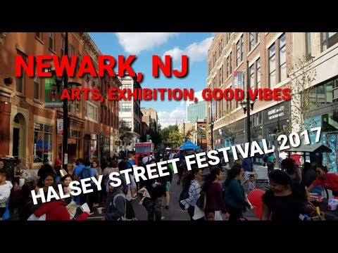 Around Newark, NJ - Halsey Street Festival 2017 | University Heights