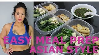 EASY FISH & VEGGIES MEAL PREP | ASIAN STYLE RECIPE