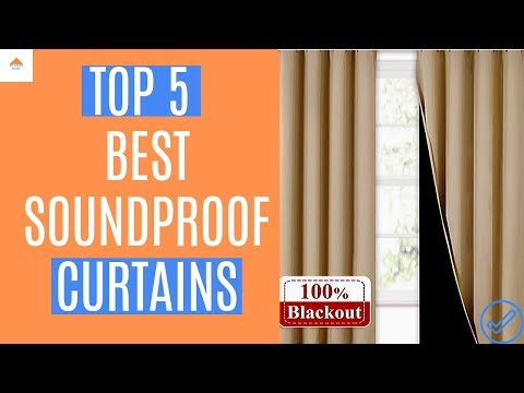 5 Best Soundproof Curtains 2021 (That Really Work!)