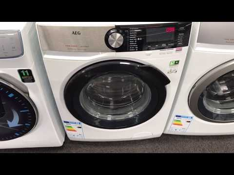 How To Use Service Mode In The AEG 6000,7000,8000,9000 Washing Machines