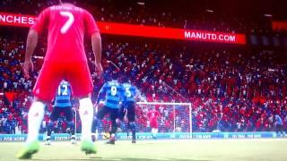 Amazing FIFA 12 free kick goal! (Arabic Commentary)