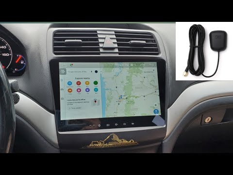 2004-2008 Acura TSX Android Double Din GPS Set Up