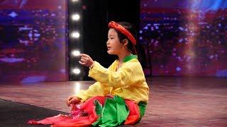 """Vietnam's Got Talent 2016 - TẬP 02 - Hát chầu văn - """"Tài năng nhí"""" Đỗ Ngọc Hà"""
