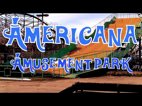 The Abandoned Americana Amusement Park (LeSourdsville Lake)