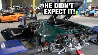 homepage tile video photo for Twin Turbo Lamborghini SHOCKS us all! 1,XXXHP???