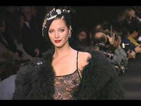 SONIA RYKIEL Fall 1994/1995 Paris - Fashion Channel