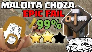 Choza del Constructor me jode el 100% | Epic Fail | Clash of Clans