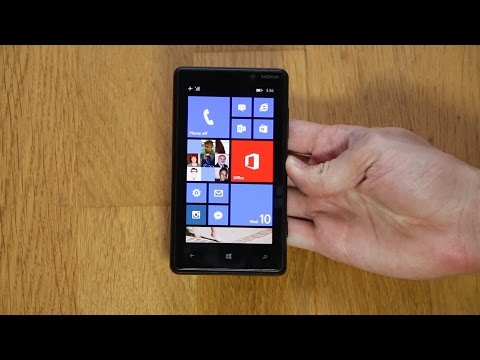 Nokia Lumia 820 Windows Phone 8.1