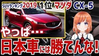 【海外の反応】衝撃!海外メディアが選ぶSUVランキング2019、1位はマツダ・CX-5に!海外「やっぱ日本車には勝てんな」【日本人も知らない真のニッポン】