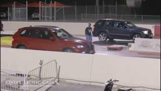 BMW X5M vs Jeep SRT8