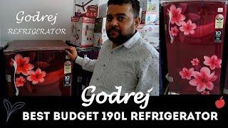 All About Godrej 190L Refrigerator Complete Demo Best Budget Refrigerator