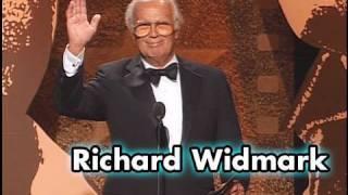 Richard Widmark Salutes Sidney Poitier