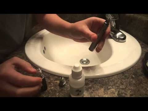How to drip E-juice into your Vape Pen/E-Cig / How to clean