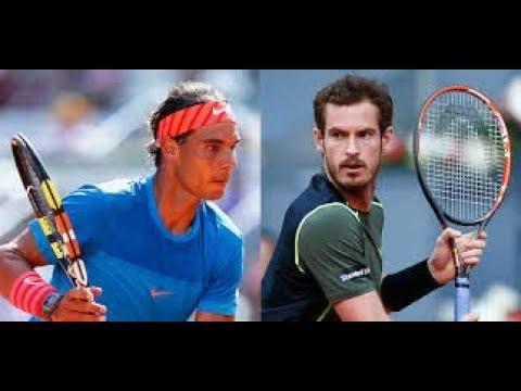 Tennis Elbow 2018-Rafael Nadal VS Andy Murray Indian Wells 2018 (HD)