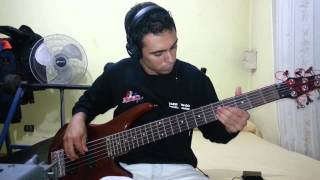 IRON MAIDEN - Pass The Jam. Bass Cover by Samael.