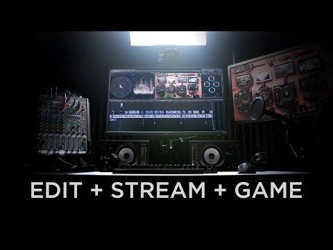 Monitor Setup for Editing, Streaming and Gaming