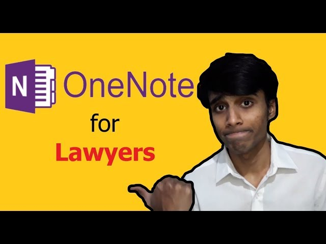 Paperless Note-taking for Lawyers (Using OneNote)