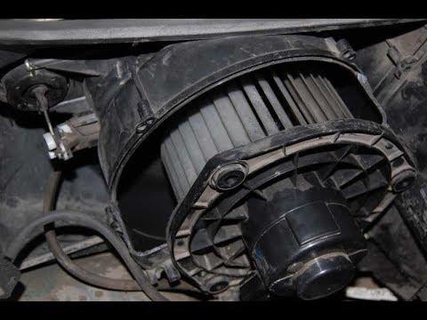 Замена мотора печки Приора с кондиционером Панасоник