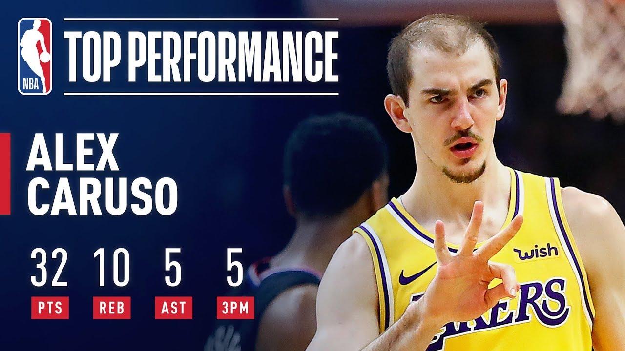 Lakers' Alex Caruso nearly led one of season's biggest comebacks ...