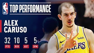 Alex Caruso GOES OFF Against The Clippers | April 5, 2019