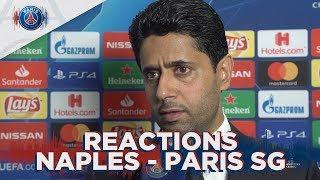 REACTIONS : SSC NAPOLI 1 - 1 PARIS SAINT-GERMAIN FR 🇫🇷