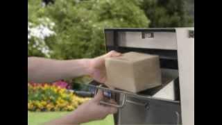 MailCase Stainless Locking Mailbox