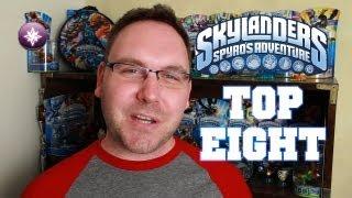 Skylanders 101 - TOP 8 SKYLANDERS