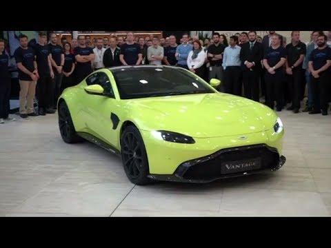 2018 Aston Martin Vantage World Premiere