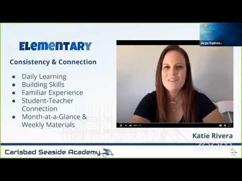 Carlsbad Seaside Academy Q&A Webinar