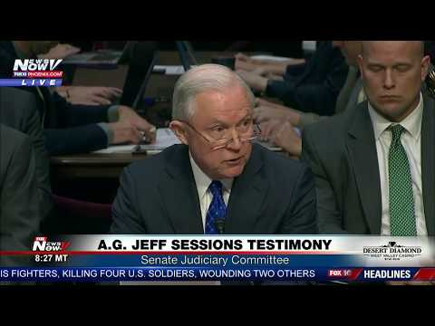 Download Youtube: FNN: Attorney General Jeff Sessions Testimony At Senate Judiciary Committee