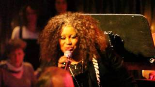 """Feel Like Making Love"" (Roberta Flack) - Harriet Lewis & Sir Waldo Weathers at the BIX Jazzclub"
