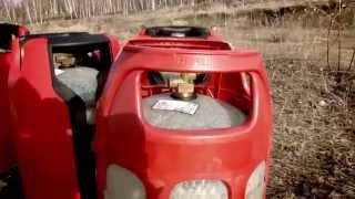 Взрывобезопасные композитные баллоны для пропана - тест на взрыв(Видеоролик-тест - безопасность композитных газовых баллонов для канадских грилей-барбекю Napoleon. Подробнее..., 2014-06-05T13:09:39.000Z)