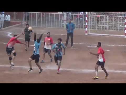 Final Highlights Solapur Vs Pune 47th Mens State Handball championship Raman