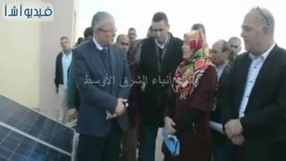 بالفيديو: محافظ المنيا يفتتح مبني الوحدة المحلية لمطاي ويوجه بحسن معاملة المواطنين