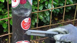 Building A Bottle Tower For Container Gardening