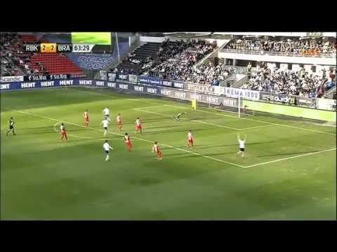 Mike Jensen goal against Brann