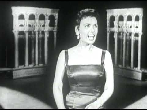 """Lena Horne """"From This Moment On"""" on The Ed Sullivan Show"""