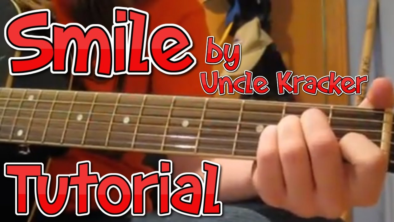 How To Play Smile On Guitar Youtube