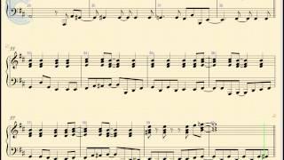 Piano - Ain't No Mountain High Enough - Diana Ross - Sheet Music, Chords, & Vocals
