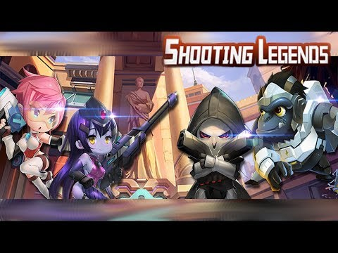 OverWatch Mobile!? Diferente mas Igual! Shooting Legends !!! Omega Play