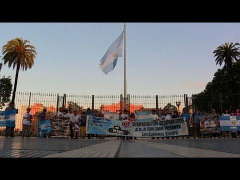 afpes: Piden seguir búsqueda de submarino argentino perdido hace un año