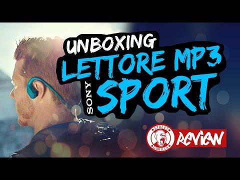 UNBOXING EPICO | Miglior LETTORE MP3 SPORT E Nuoto | Sony Walkman Nw - Ws413