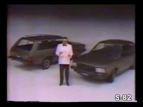 PROPAGANDA COMERCIAL FORD CORCEL 2 CORCEL II BELINA 5 ESTRELAS LDO GL L 1984 BRASIL CARLOS MIELE