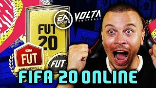 PLAYING FIFA 20 ONLINE EARLY! MY FIRST FIFA 20 ONLINE GAME - KRASI vs OVVY!