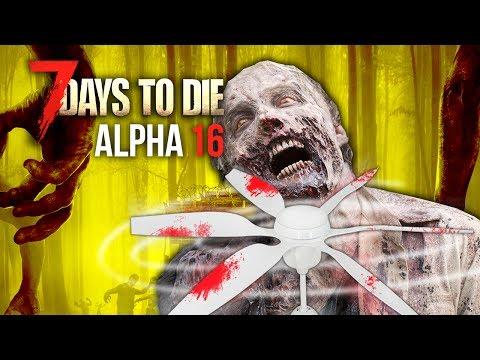 SPINNING BLADES OF DEATH ★ 7 Days To Die (Alpha 16, Ep.41)