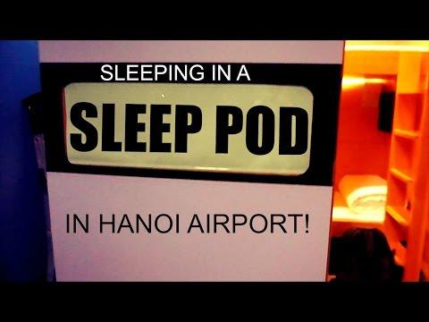 Sleeping in a Sleep Pod in Hanoi! | Daily Travel Vlog 59