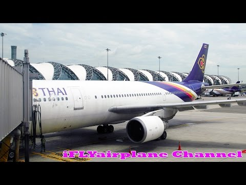 Extended Version Thai Airways A300-600 TG44 Final Flight HS-TAZ