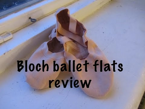 Bloch ballet flats review
